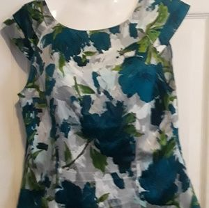 Ann Taylor short sleeve blouse
